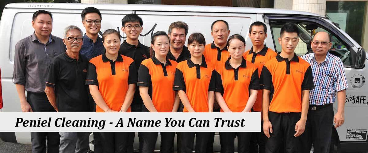 Peniel Cleaning Company team