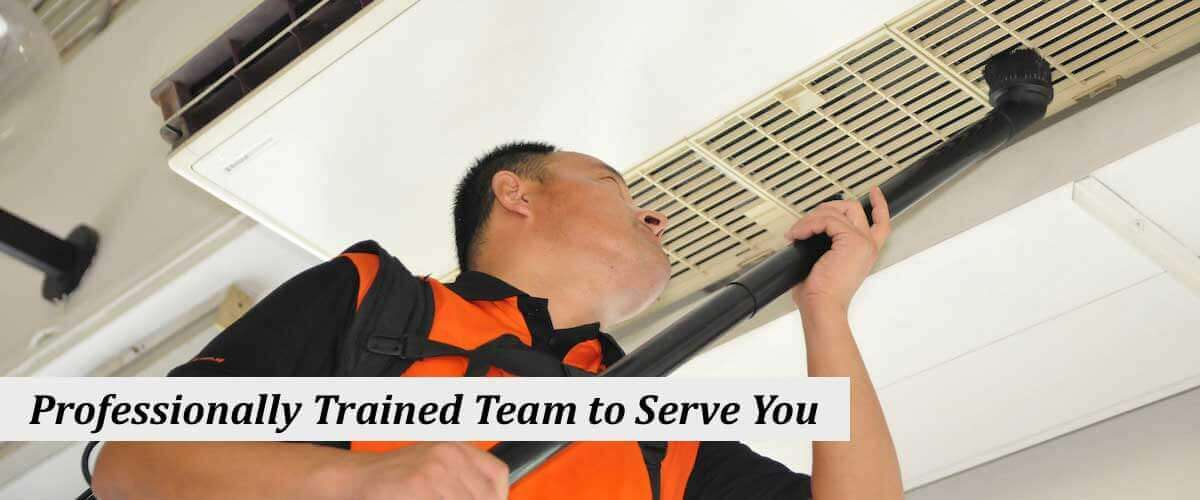 Professional Trained Team to serve you