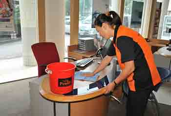 commercial building cleaning service Singapore